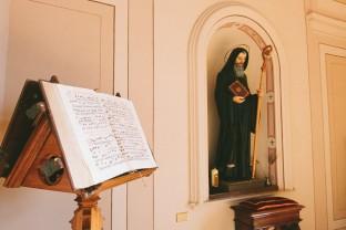Sala Capitolare, Monastero Benedettine, Boville Ernica, Frosinone, Clausura