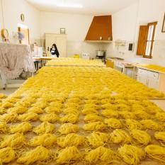 Laboratorio pasta, Monastero Benedettine, Boville Ernica, Clausura