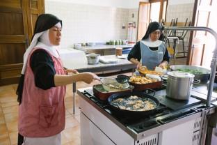 Cucina, Monastero Benedettine, Boville Ernica, clausura