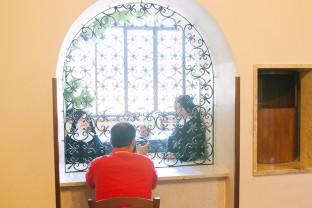 Parlatorio, Monastero Benedettine, Boville Ernica, clausura