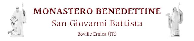 Monastero Benedettine San Giovanni Battista >> Boville Ernica (FR) logo