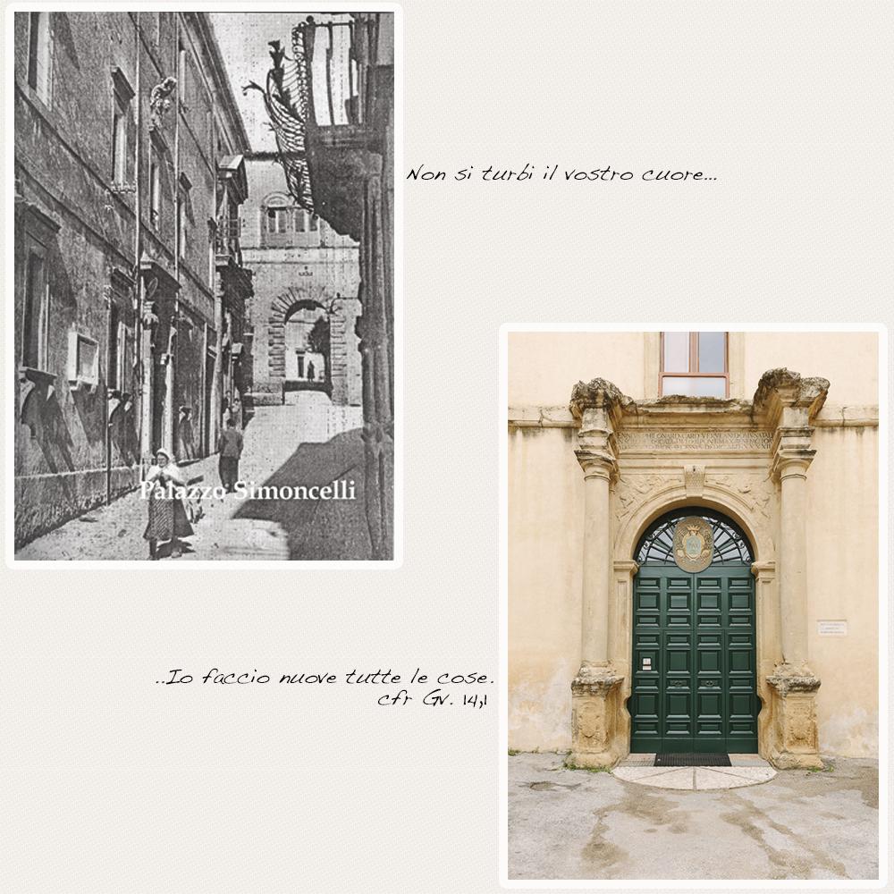 Palazzo Simoncelli, Palazzo Filonardi, Monache Benedettine, Boville Ernica, Clausura