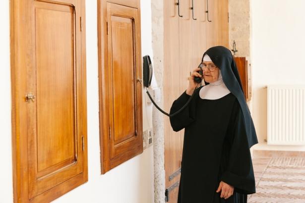 Suor Maria Fortunata, Monastero Benedettine, Boville Ernica, clausura