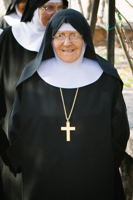 1Madre Abbadessa Raffaella Capogna, Monastero Benedettine, Boville Ernica, Clausura